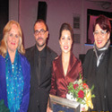 Nancy Rhodes, Curro Carreres (Jury member from Madrid), Sara Heaton, Danus Luknisova, Agent from Italy and Jury Member