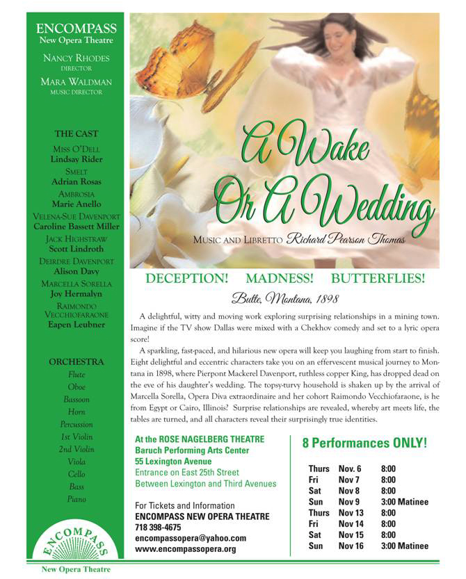 Awake Or A Wedding