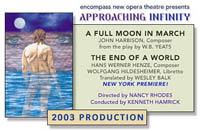 Approaching Infinity - A Mainstage Production | Encompass New Opera Theatre, Brooklyn, New York